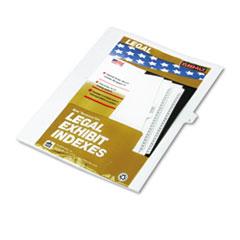 KLF80012 - Kleer-Fax® 80000 Series Alpha Side Tab Legal Index Divider