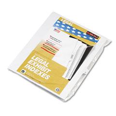 KLF80015 - Kleer-Fax® 80000 Series Alpha Side Tab Legal Index Divider