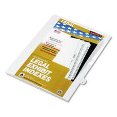 KLF80020 - Kleer-Fax® 80000 Series Alpha Side Tab Legal Index Divider
