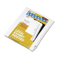 KLF80023 - Kleer-Fax® 80000 Series Alpha Side Tab Legal Index Divider