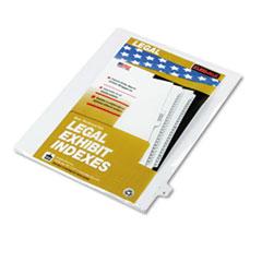 KLF80024 - Kleer-Fax® 80000 Series Alpha Side Tab Legal Index Divider