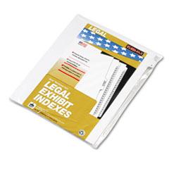 KLF81112 - Kleer-Fax® 80000 Series Numerical Side Tab Legal Index Divider
