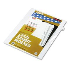 KLF81115 - Kleer-Fax® 80000 Series Numerical Side Tab Legal Index Divider
