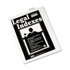 KLF81156 - Kleer-Fax® 80000 Series Exhibit Alpha Bottom Tab Legal Index Divider