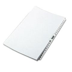 KLF81471 - Kleer-Fax® 80000 Series Side Tab Legal Index Divider Set