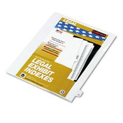 KLF82224 - Kleer-Fax® 80000 Series Numerical Side Tab Legal Index Divider