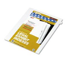 KLF82227 - Kleer-Fax® 80000 Series Numerical Side Tab Legal Index Divider