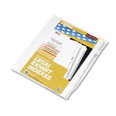 KLF82230 - Kleer-Fax® 80000 Series Numerical Side Tab Legal Index Divider