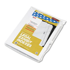 KLF82239 - Kleer-Fax® 80000 Series Numerical Side Tab Legal Index Divider