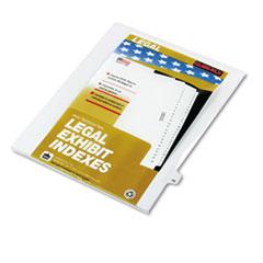 KLF82246 - Kleer-Fax® 80000 Series Numerical Side Tab Legal Index Divider