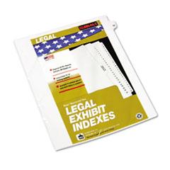 KLF82252 - Kleer-Fax® 80000 Series Numerical Side Tab Legal Index Divider