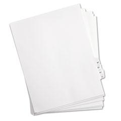 KLF82267 - Kleer-Fax® 80000 Series Numerical Side Tab Legal Index Divider