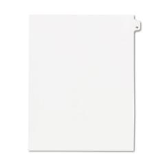 KLF82276 - Kleer-Fax® 80000 Series Numerical Side Tab Legal Index Divider