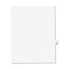 KLF82292 - Kleer-Fax® 80000 Series Numerical Side Tab Legal Index Divider