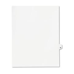 KLF82293 - Kleer-Fax® 80000 Series Numerical Side Tab Legal Index Divider