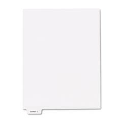 KLF84141 - Kleer-Fax® 80000 Series Exhibit Numerical Bottom Tab Legal Index Divider