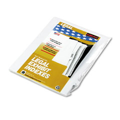 KLF91021 - Kleer-Fax® 90000 Series Numerical Side Tab Legal Index Divider