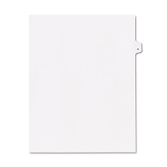 KLF91031 - Kleer-Fax® 90000 Series Numerical Side Tab Legal Index Divider