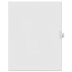 KLF91038 - Kleer-Fax® 90000 Series Numerical Side Tab Legal Index Divider