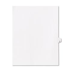 KLF91040 - Kleer-Fax® 90000 Series Numerical Side Tab Legal Index Divider