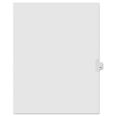 KLF91041 - Kleer-Fax® 90000 Series Numerical Side Tab Legal Index Divider