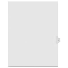 KLF91042 - Kleer-Fax® 90000 Series Numerical Side Tab Legal Index Divider