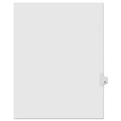 KLF91044 - Kleer-Fax® 90000 Series Numerical Side Tab Legal Index Divider