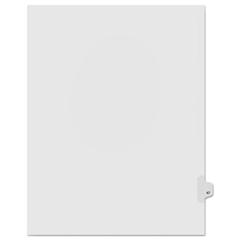 KLF91047 - Kleer-Fax® 90000 Series Numerical Side Tab Legal Index Divider