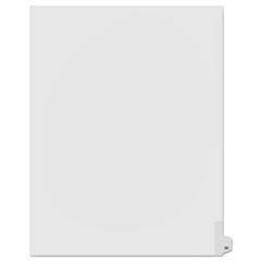 KLF91050 - Kleer-Fax® 90000 Series Numerical Side Tab Legal Index Divider