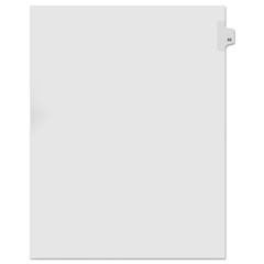 KLF91053 - Kleer-Fax® 90000 Series Numerical Side Tab Legal Index Divider