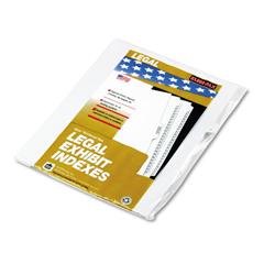 KLF91809 - Kleer-Fax® 90000 Series Alpha Side Tab Legal Index Divider