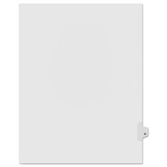 KLF91823 - Kleer-Fax® 90000 Series Alpha Side Tab Legal Index Divider
