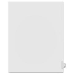 KLF91825 - Kleer-Fax® 90000 Series Alpha Side Tab Legal Index Divider