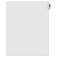 KLF91871 - Kleer-Fax® 90000 Series Alpha Side Tab Legal Index Divider