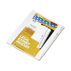 KLF91872 - Kleer-Fax® 90000 Series Exhibit Alpha Side Tab Legal Index Divider