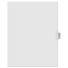 KLF91876 - Kleer-Fax® 90000 Series Alpha Side Tab Legal Index Divider