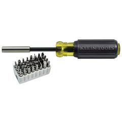 KLN409-32510 - Klein ToolsMagnetic Screwdriver with 32-Piece Tamperproof Bit Set