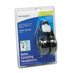 KMW33084 - Kensington® Noise Canceling Folding Design Headphones