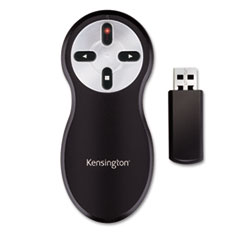 KMW33374 - Kensington® Wireless Presentation Remote, Integrated Laser Pointer