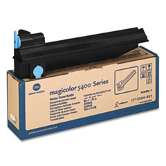 KNM1710584001 - Konica Minolta Waste Toner Box for Magicolor 5400 Series, 32,000 Page-Yield