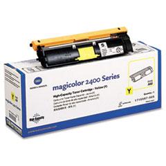 KNM1710587005 - Konica Minolta 1710587005 High-Yield Toner, 4500 Page-Yield, Yellow