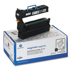 KNM1710602005 - Konica Minolta 1710602005 High-Yield Toner, 12000 Page-Yield, Black