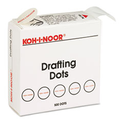 KOH25900J01 - Koh-I-Noor Adhesive Drafting Dots