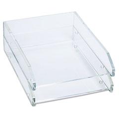 KTKAD15 - Kantek Clear Acrylic Letter Tray