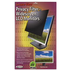 KTKSVL201W - Kantek Secure-View Black-Out Privacy Filter