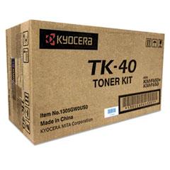 KYOTK40 - Kyocera TK40 Toner, 9,000 Page-Yield, Black