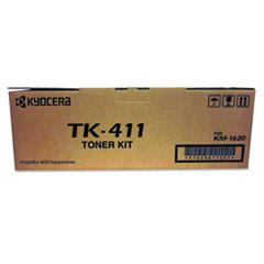KYOTK411 - Kyocera TK411 Toner, 15,000 Page-Yield, Black