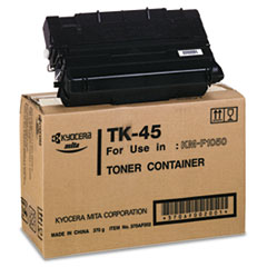 KYOTK45 - Kyocera TK45 Toner, 12000 Page-Yield, Black