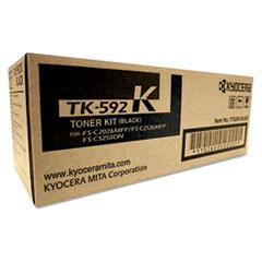 KYOTK592K - Kyocera TK592K Toner, 5,000 Page-Yield, Black
