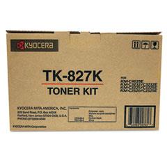 KYOTK827K - Kyocera TK827K Toner, 15,000 Page-Yield, Black